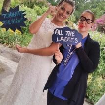 La mariée et sa wedding planner