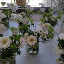 Petits vases de fleurs
