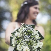 Bouquet de mariée thème cinéma
