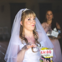 mariée et harribo